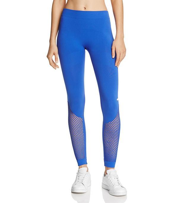 Adidas by Stella McCartney Seamless Mesh Inset Leggings