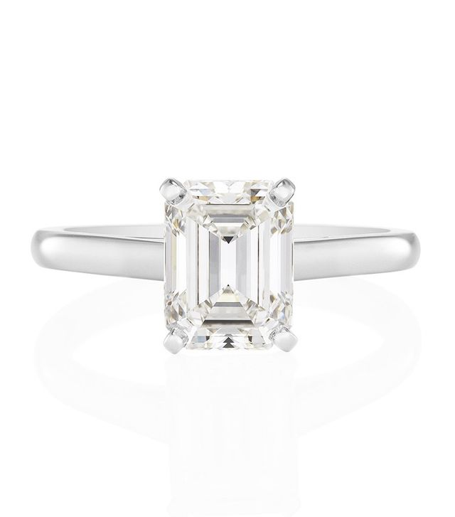 Tiffany & Co. Emerald Cut Ring