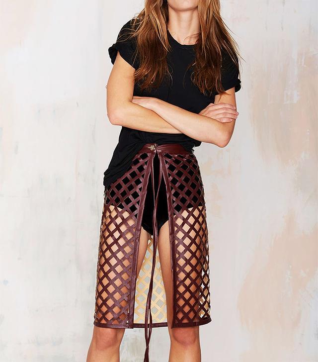 Beautiful Stranger Laser Cut Skirt