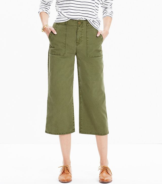 Madewell Military Culotte Pants