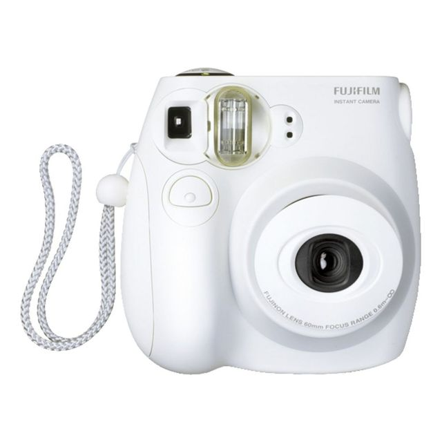 Fujifilm Instax Mini 7s Camera White