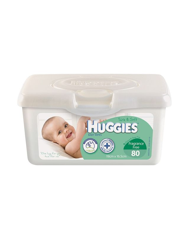 Huggies Fragrance-Free Baby Wipes
