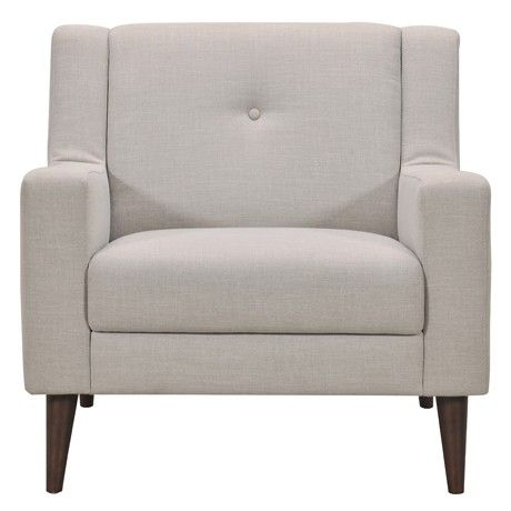 Freedom Poppy Armchair in Polonia Grey