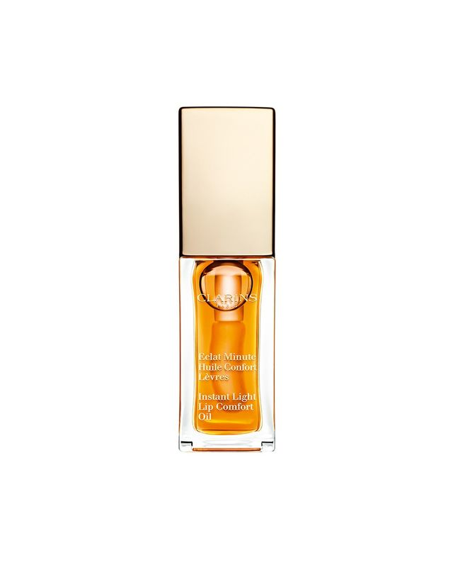 Clarins Instant Light Lip Comfort Oil in Honey