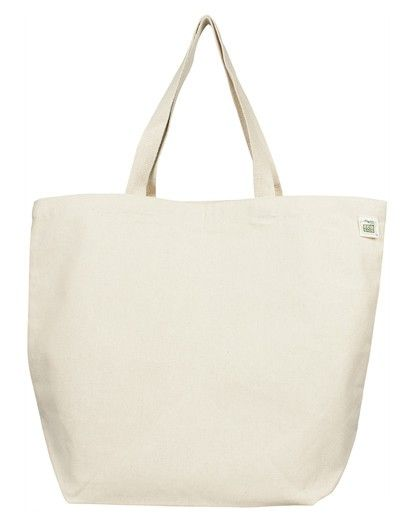 Ecobags Recycled Cotton Canvas Tote