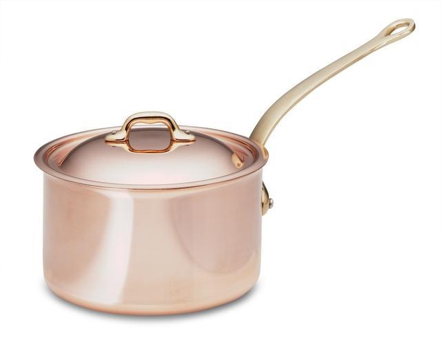 Williams-Sonoma Mauviel Copper Saucepans