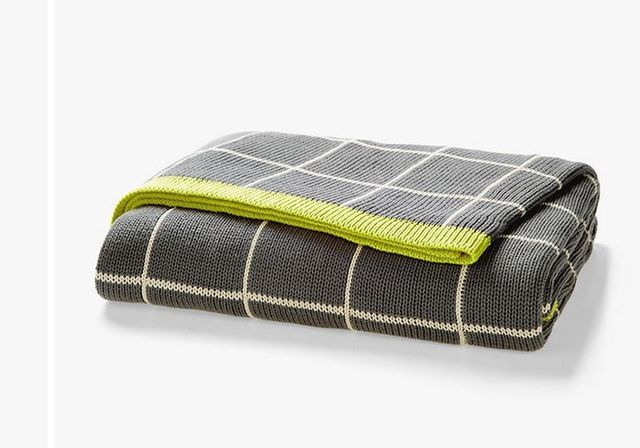 Aura Home Lattice Throw