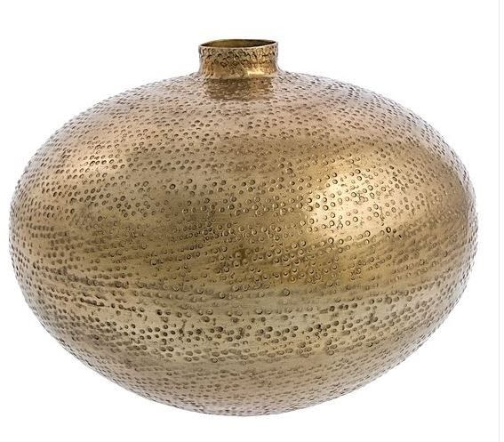 Casa Uno Bubble Hammered Spout Vase