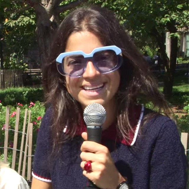 Watch Man Repeller Dole Out Free Advice in an NYC Park
