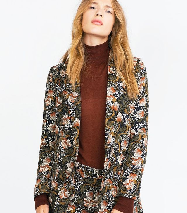Zara Printed Jacket