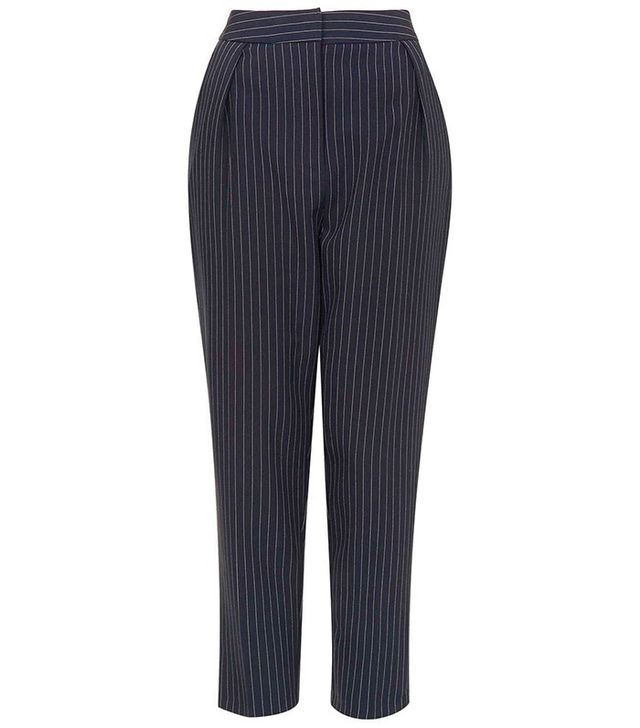 Topshop Striped Trousers