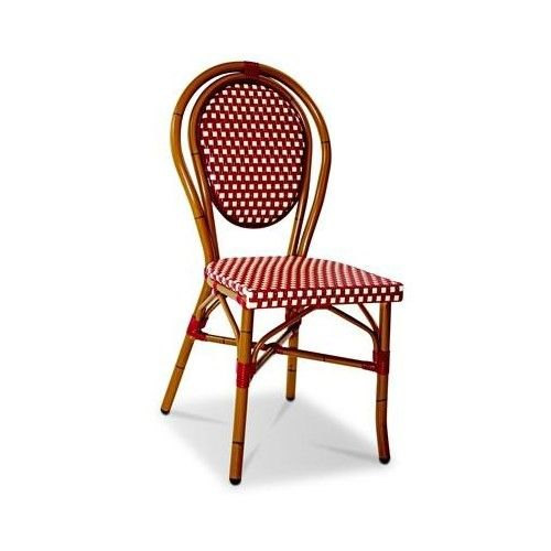 EZ Furn Paris Outdoor Chair in Brown and Cream