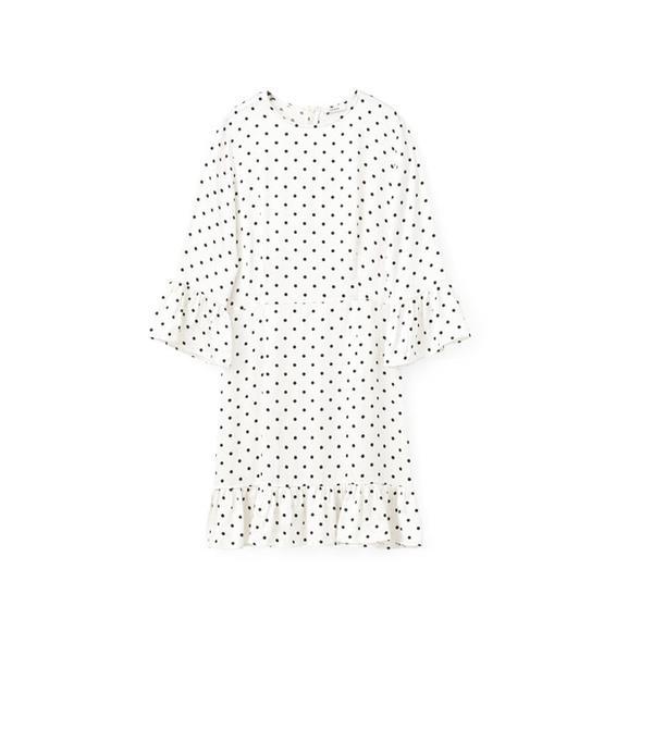 Weekend Style Ideas: Ganni Leclair Satin Dress