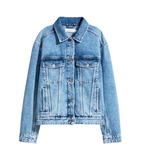 Weekend Style Ideas: H&M Embroidered Denim Jacket