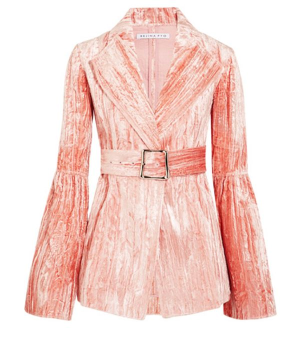 Weekend Style Ideas: Whistles Lola Rose Velvet Jumpsuit