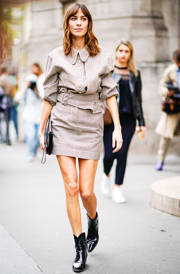 Cool Outfits for Women in 30s: Alexa Chung
