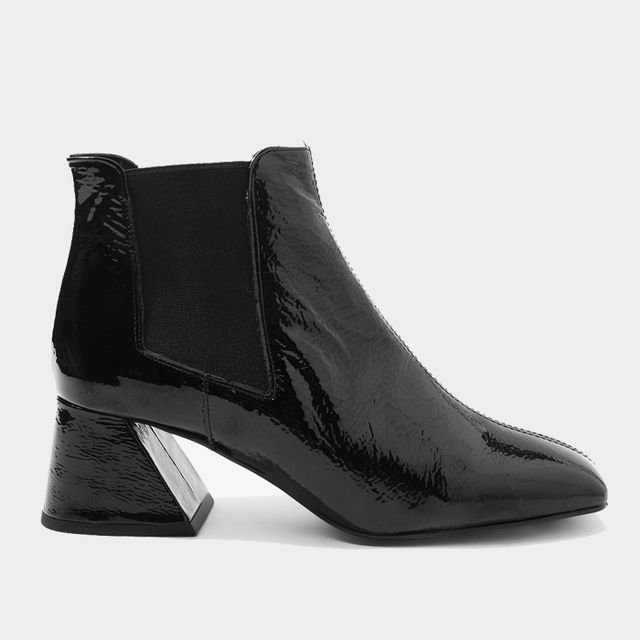 Editors job interview outfits: Topshop patent boots