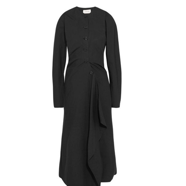 Editors job interview outfits: Lemaire dress