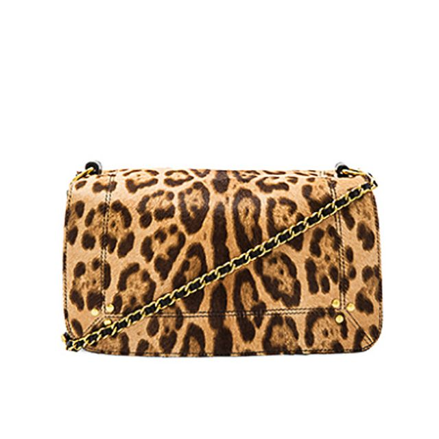 Editors job interview outfits: Leopard crossbody