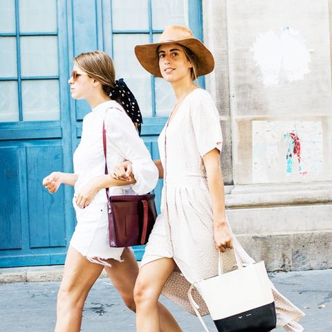 Summer outfit ideas: Power Up a Plain Look With Well-Edited Extras