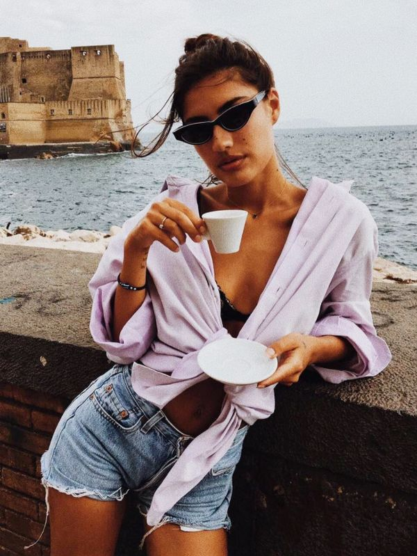 Beach outfit ideas: Patricia Manfield