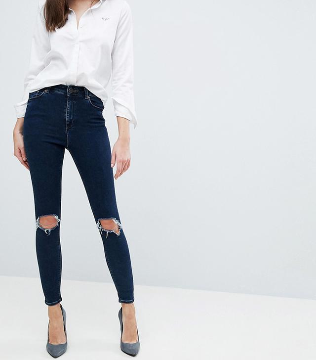 ASOS Ridley High Waist Skinny Jeans