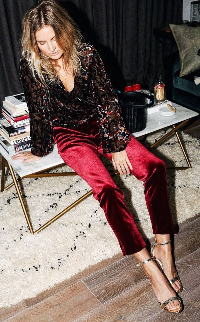 what to wear to an engagement party: lucy williams smart trousers