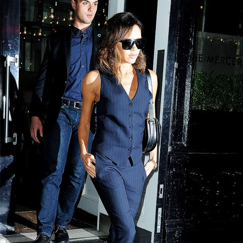 Victoria Beckham style: Tailoring Doesn't Have to Mean Business