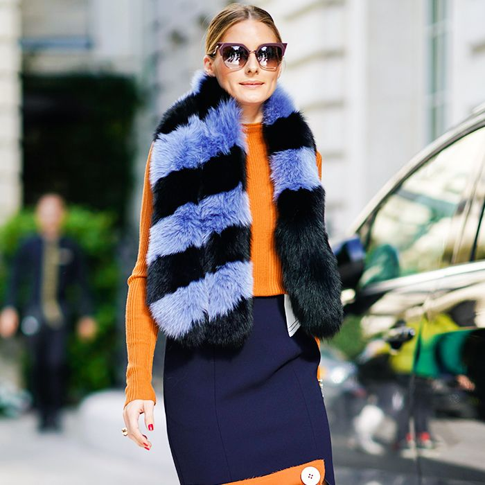 celebrity slimming style types: olivia palermo