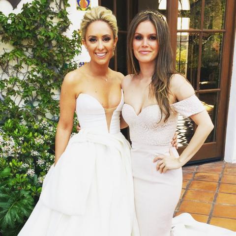 Celebrity bridesmaids dresses: Rachel Bilson