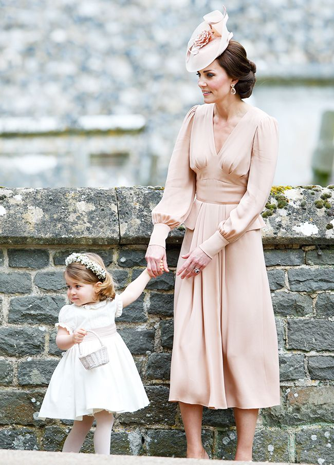Celebrity bridesmaids dresses: Duchess of Cambridge and Princess Charlotte