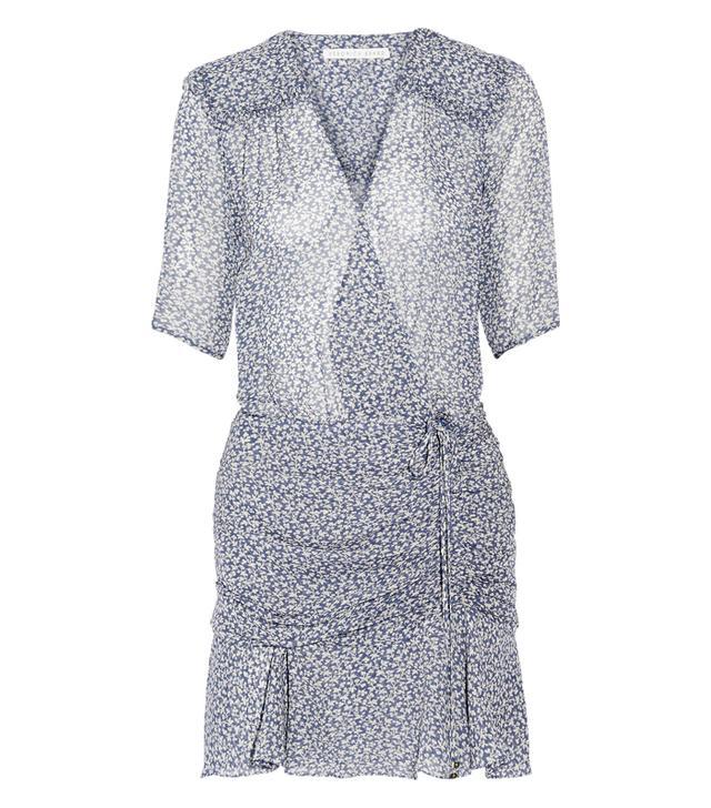 Best dress for my body type: Vernonica Beard Dakota Ruched Printed Silk Chiffon Mini Dress
