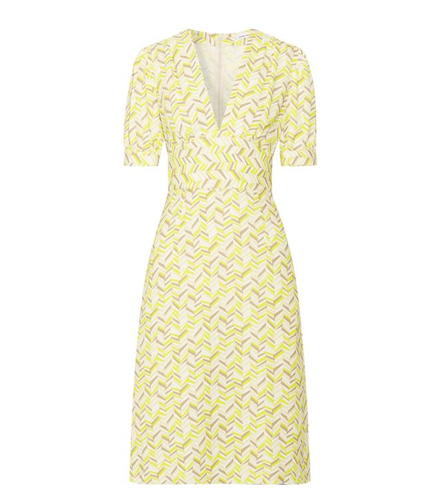 Best dress for my body type: Tomas Maier Printed Crepe Dress