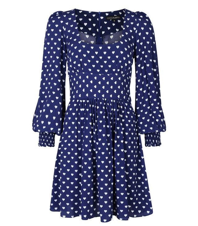 valentine's day outfits: Coco Fennell Heart Dolly Dress
