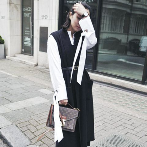 layering clothes: always have a white shirt to hand