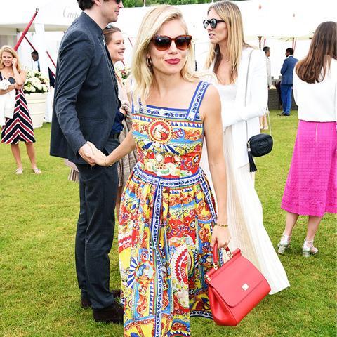 Sienna Miller in Dolce & Gabbana