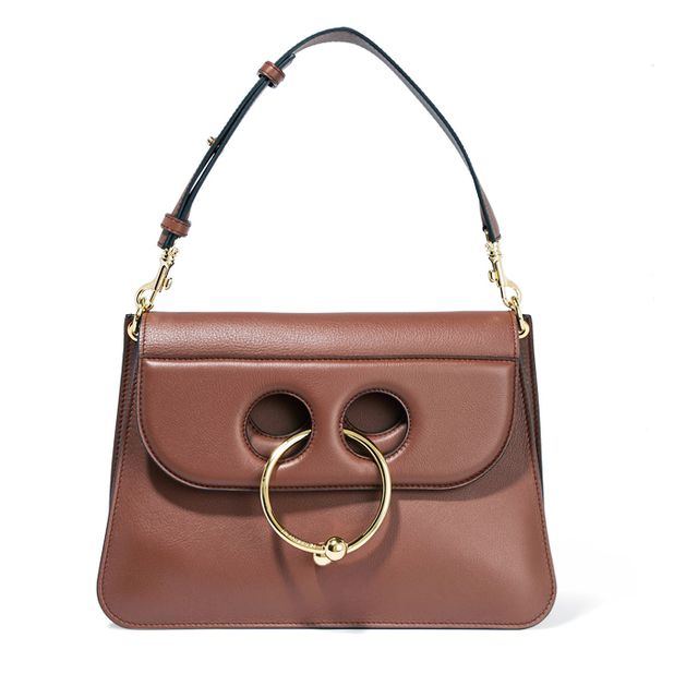 Colours that look good with brown: J.W.Anderson Pierce Medium Leather Shoulder Bag