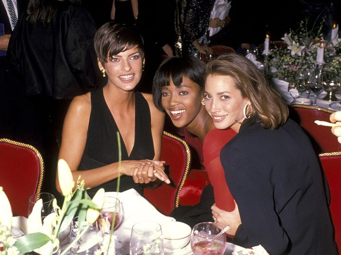 How to look good in photos: Linda Evangelista, Christy Turlington and Naomi Campbell