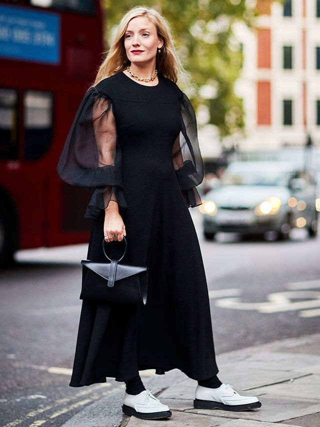 Simple Style Rules: Kate Foley in a black dress