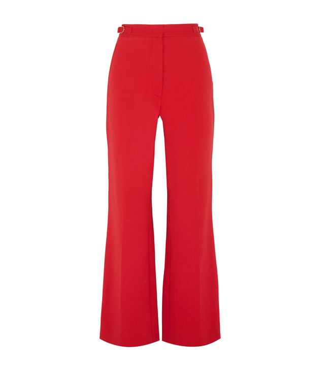Simple Style Rules: Gabriela Hearst Vesta Wool-Blend Flared Pants