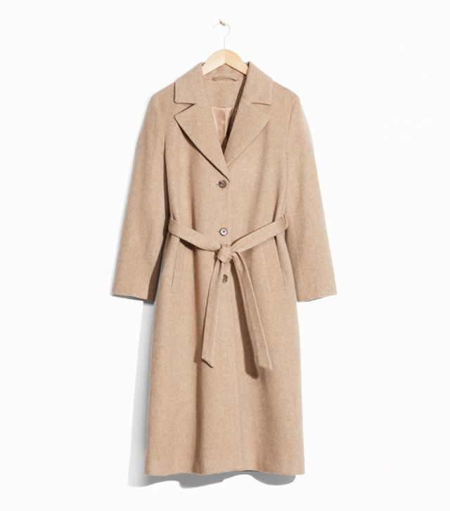 Simple Style Rules: & Other Stories Loose Alpaca Blend Coat