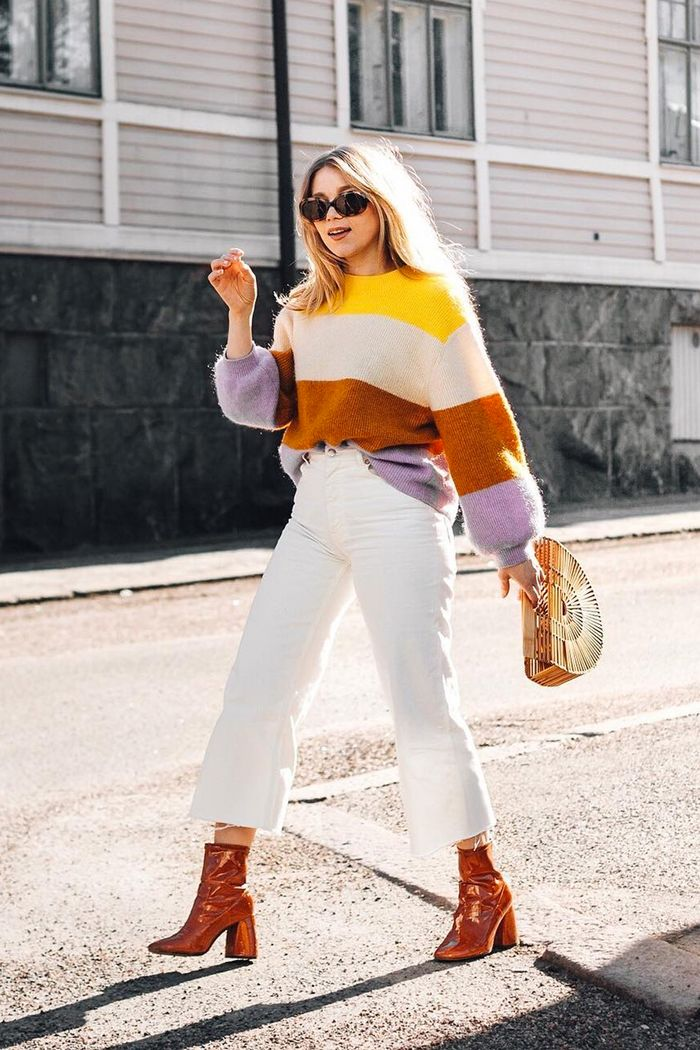 What to wear shopping: Milla Kuoksa wears H&M jeans and jumper