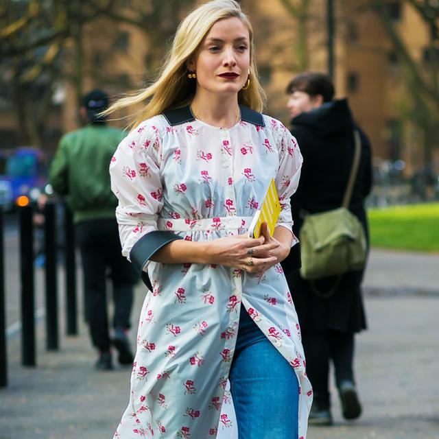 Colours that suit blondes: kate foley for style du monde