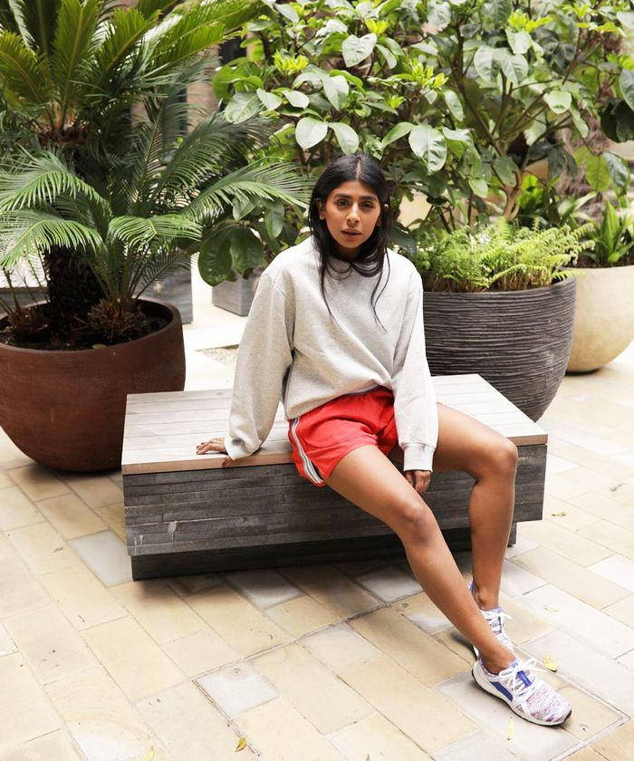 Cute workout clothes: Monikh Dale