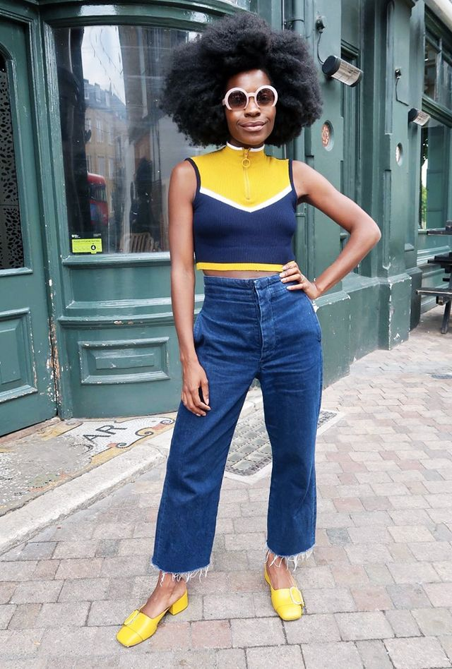 Cropped-Jumper Outfit Ideas How To Wear A Cropped Sweater | WhoWhatWear UK