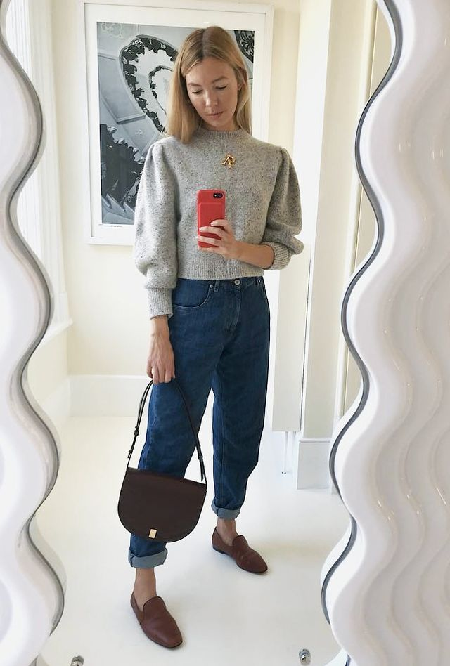Cropped-Jumper Outfit Ideas: How to Wear a Cropped Sweater ...