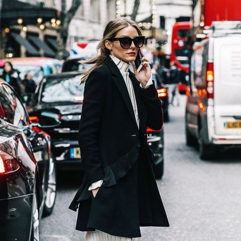 How to wear a turtleneck: Olivia Palermo