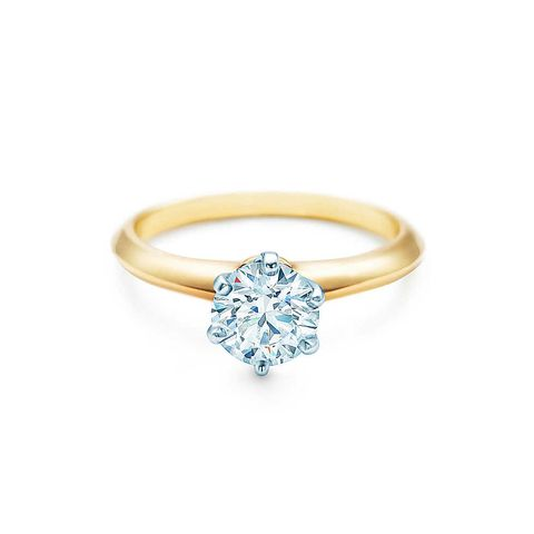 The Tiffany Setting 19k Yellow Gold