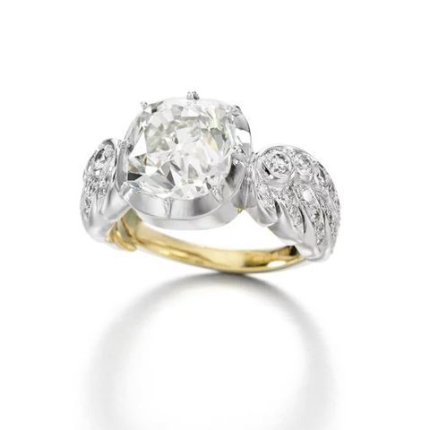 Wing of Desire White Gold Diamond Ring