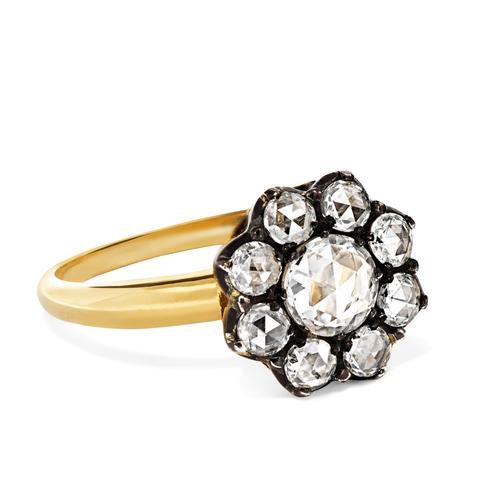 Collection 18-Karat Gold Diamond Ring